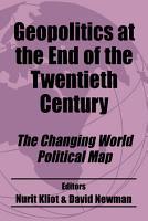 Geopolitics at the End of the Twentieth Century PDF