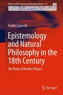 Epistemology and Natural Philosophy in the 18th Century PDF