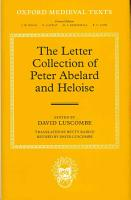 The Letter Collection of Peter Abelard and Heloise PDF