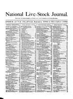 National Live Stock Journal PDF