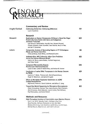 Genome Research PDF