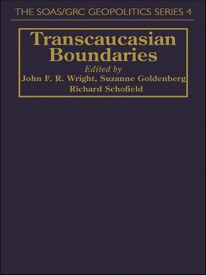 Transcaucasian Boundaries PDF
