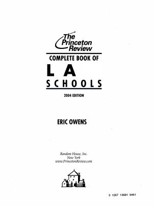 Complete Book of Law Schools PDF