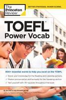 TOEFL Power Vocab PDF
