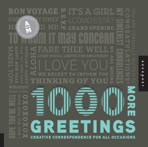 1 000 More Greetings Book