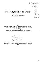 St. Augustine at Ostia: Oxford Sacred Poem