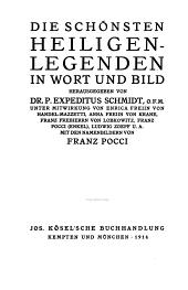 Die scho nsten Heiligen-Legenden in Wort und Bild: Band 2