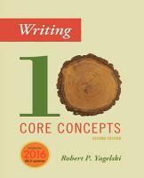Writing  Ten Core Concepts PDF