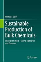 Sustainable Production of Bulk Chemicals PDF