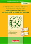 Bildungsstandards f  r die Grundschule  Mathematik konkret PDF