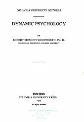 Dynamic Psychology