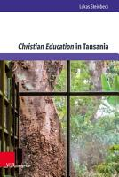 Christian Education in Tansania PDF
