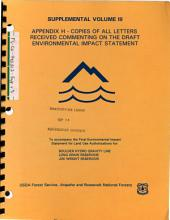 Arapaho National Forest  N F    Roosevelt National Forest  N F    Long Draw Reservoir  Land Use Authorization PDF