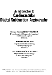 An Introduction to Cardiovascular Digital Subtraction Angiography