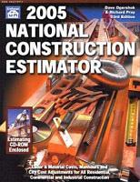 2005 National Construction Estimator PDF