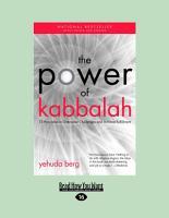 The Power of Kabbalah PDF