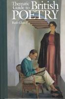 Thematic Guide to British Poetry PDF