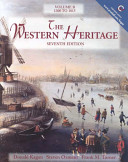 The Western Heritage  1300 1815 Book
