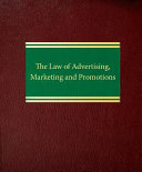 The Law of Advertising  Marketing and Promotions PDF