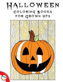Halloween Coloring Books for Grown Ups