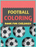 Football Coloring Book For Children