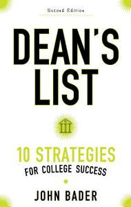 Dean s List Book