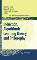 Induction  Algorithmic Learning Theory  and Philosophy PDF