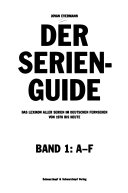 Der Serien Guide  A F PDF