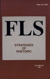 Strategies of Rhetoric