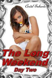The Long Weekend- Day Two (BDSM, humiliation, abdl, diapers, spanking, anal, baby girl)