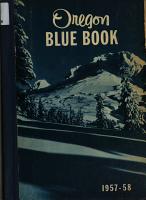 Oregon Blue Book PDF