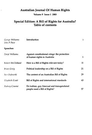 Australian Journal of Human Rights PDF