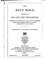 The holy Bible. Diamond 16 mo. refs