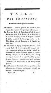 Nouvelle description des glaciers des Alpes, de la Savoie, de Suisse et d'Italie: Volume3