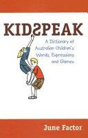 Kidspeak PDF