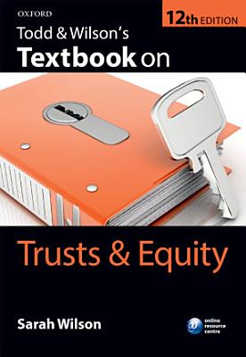 Todd   Wilson s Textbook on Trusts   Equity PDF