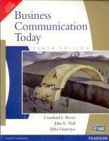 Business Communication Today  10 e PDF