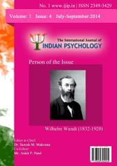 The International Journal of Indian Psychology, Volume 1, Issue 4, No. 1