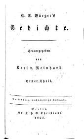 Sämmtliche werke: Supplement, Band 1