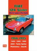 Fiat 124 Spider Performance Portfolio 1966 1985
