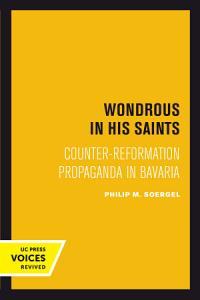 Wondrous in His Saints PDF