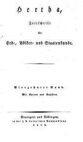 Hertha: Zeitschrift für Erd-, Völker- und Staatenkunde, Band 14