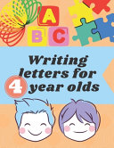 Writing Letters for 4 Year Olds