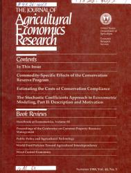 The Journal of Agricultural Economics Research PDF