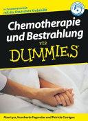 Chemotherapie und Bestrahlung f  r Dummies PDF