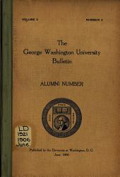 Bulletin: Alumni Number
