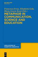 Metaphor in Communication  Science and Education PDF