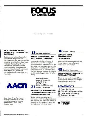 Focus on Critical Care PDF