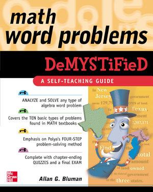 Math Word Problems Demystified PDF