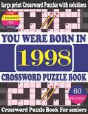 You Were Born in 1998